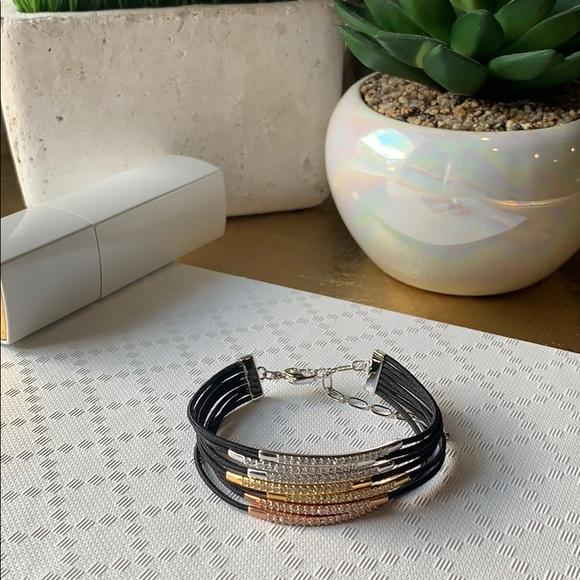 Swarovski // Tricolor Bracelet